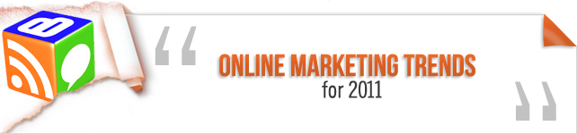 online marketing trends 2011