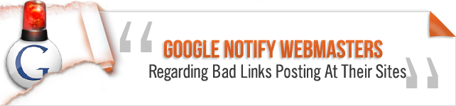 google notify webmasters