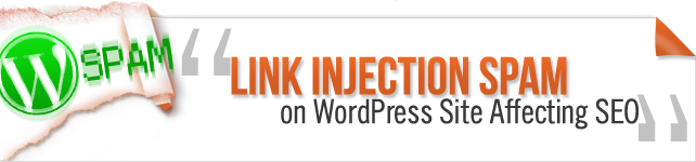 wordpress hack affecting seo