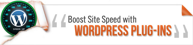 boost site speed with wordpress plug ins