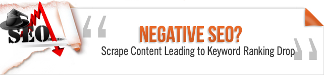 negative seo plus scraped content