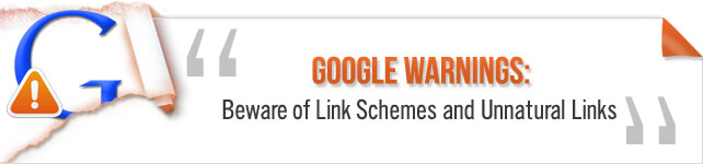 google new link scheme guidelines