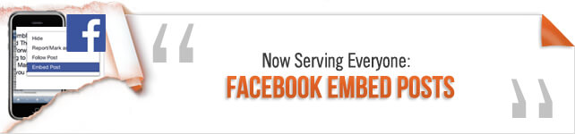 Embed Facebook Posts for Everyone